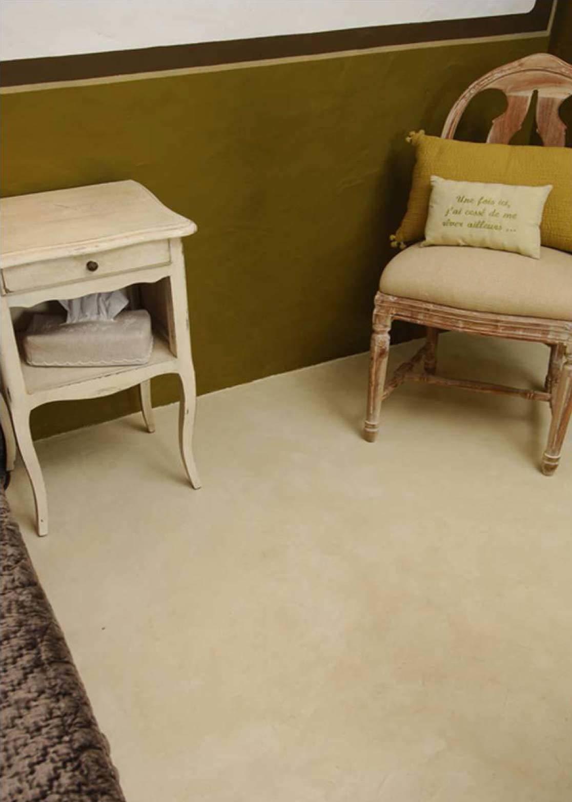 sol enduit d coratif b ton cir beige clair rouvi re collection. Black Bedroom Furniture Sets. Home Design Ideas