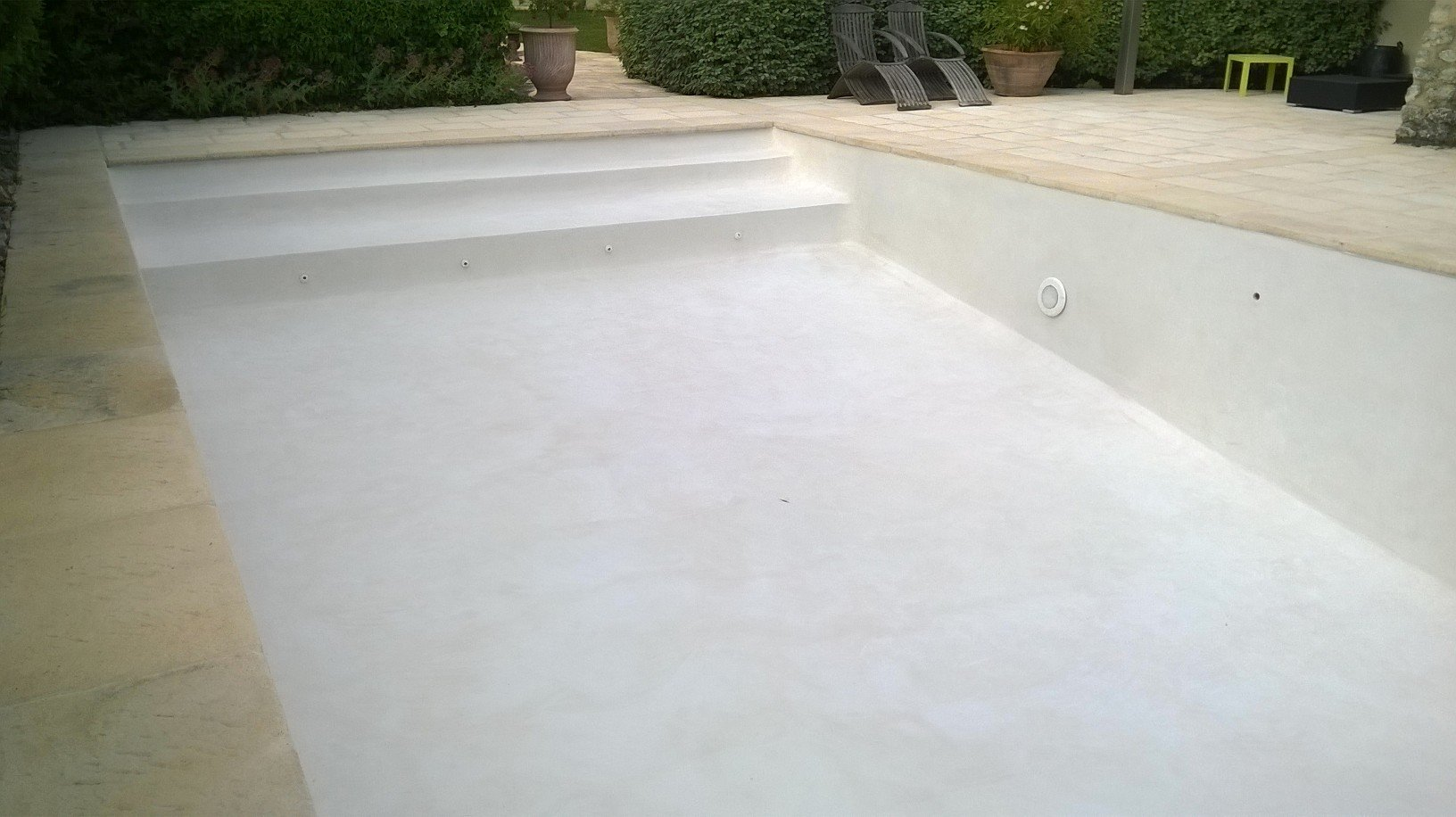 Enduit b ton cir beige clair vide rouvi re collection for Enduit piscine beton