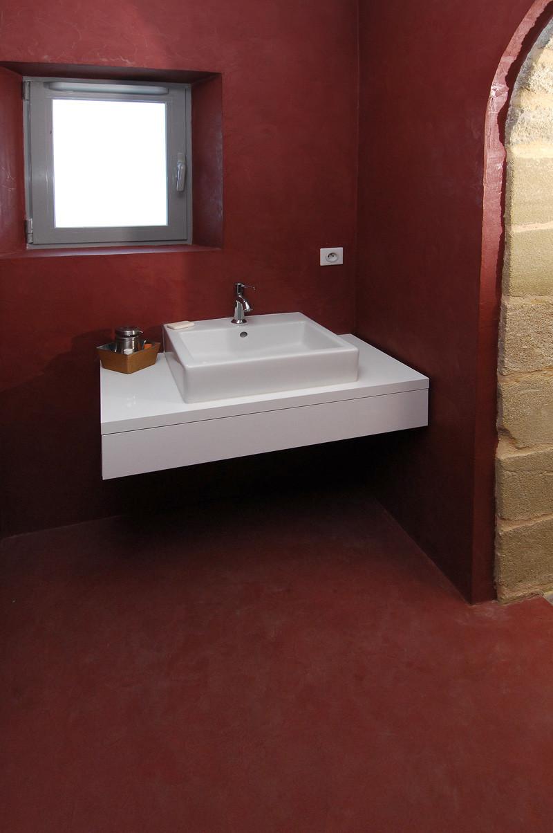 sol et mur b ton cir bordeaux rouvi re collection. Black Bedroom Furniture Sets. Home Design Ideas