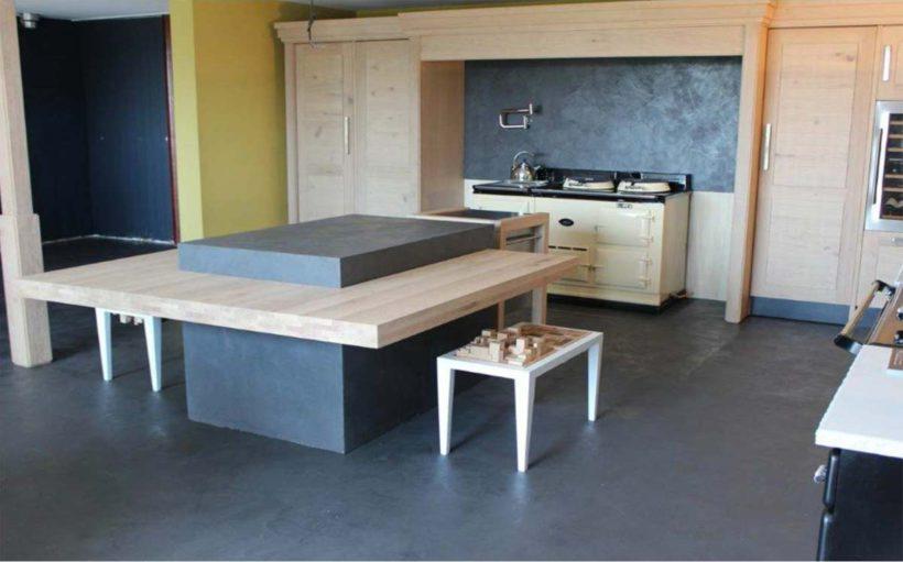 sol effet b ton cir gris fonc rouvi re collection. Black Bedroom Furniture Sets. Home Design Ideas