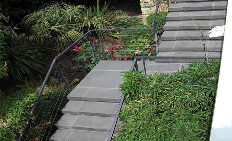Escalier extérieur Sermisilk