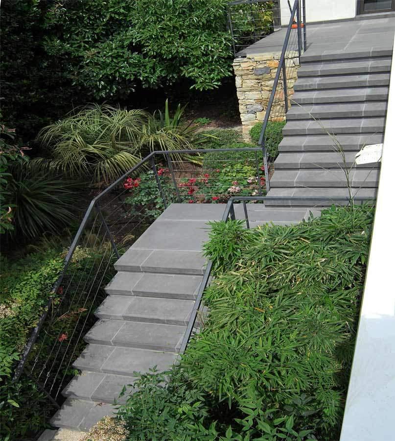 Escalier contemporain intérieur ou extérieur
