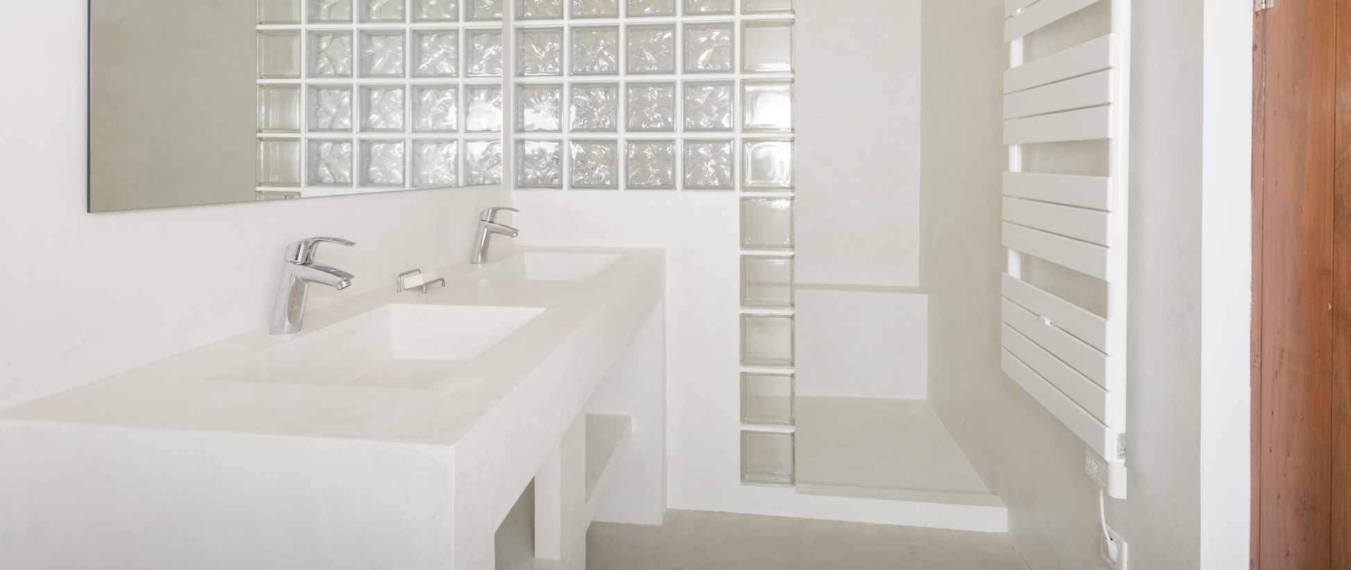 Salle De Bain Ile Maurice ~ brique de verre castorama maison design apsip com