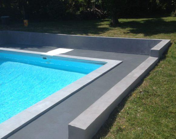 Am nagement de piscines margelles et dallages rouviere - Plage de piscine en beton ...