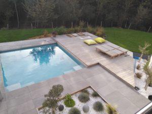 carrelage-piscine-plots-béton-bois