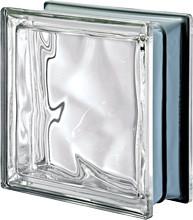 Brique de verre neutre métallisé