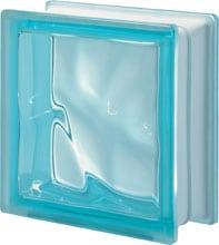 Brique de verre Aquamarine