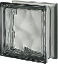 Brique de verre Nordica métallisé