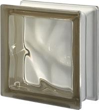 Brique de verre Sienne