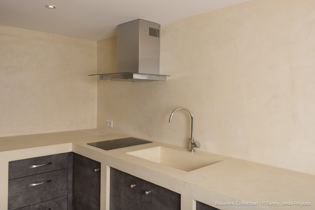 Microconcrete kitchentop