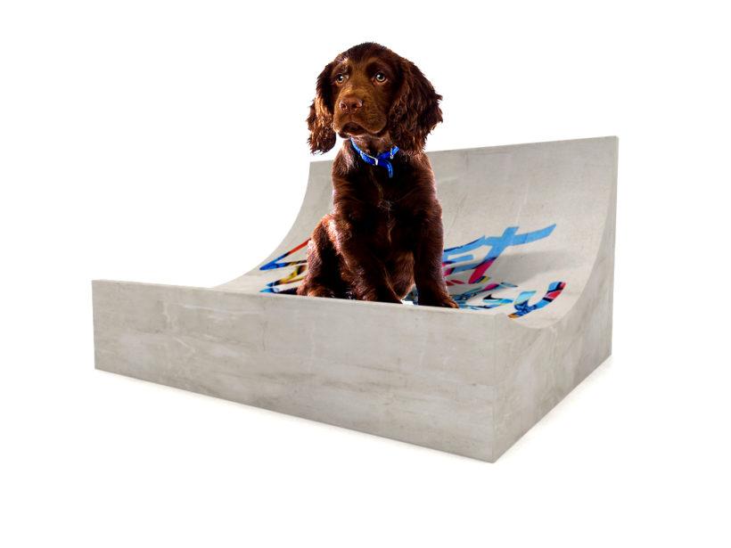 Mobilier en béton ciré collection Loft-Dog