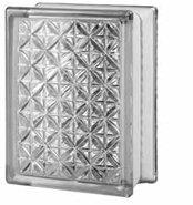 Brique de verre Imperial Size Aktis 14,6x19,7x8 cm