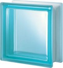 Brique de verre carrée 19x19x8 cm
