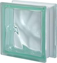 Brique de verre Vert
