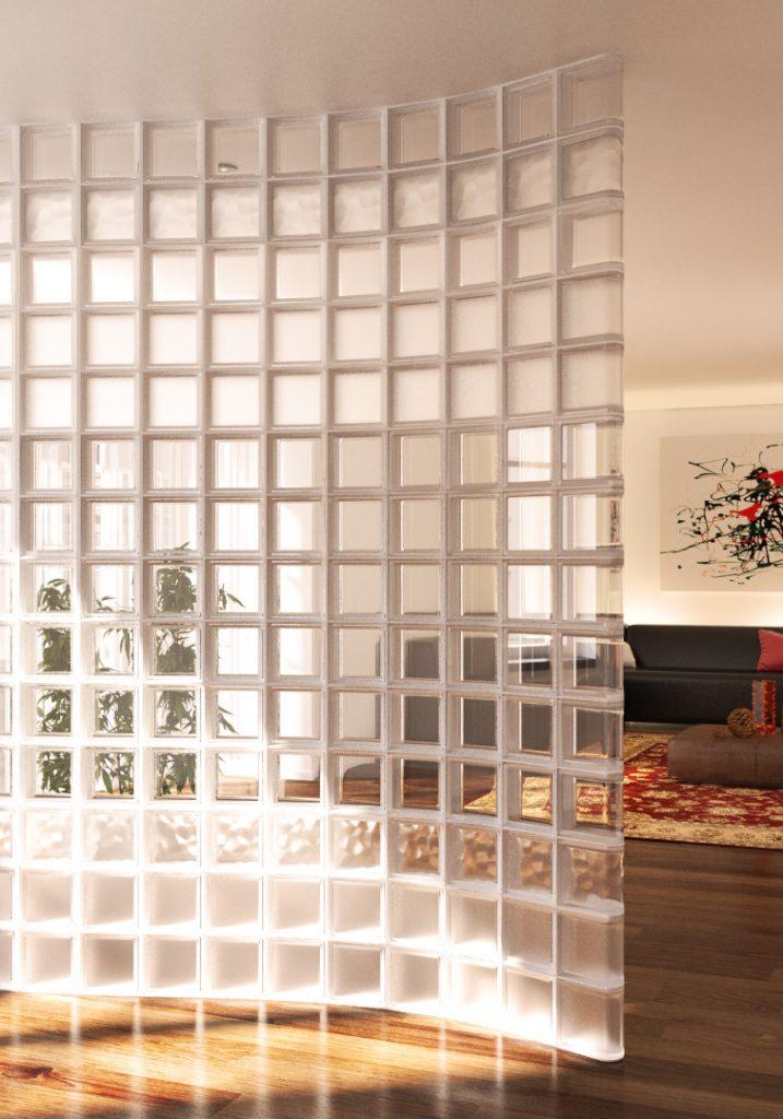 Briques de verre Pegasus : lumière et intimité