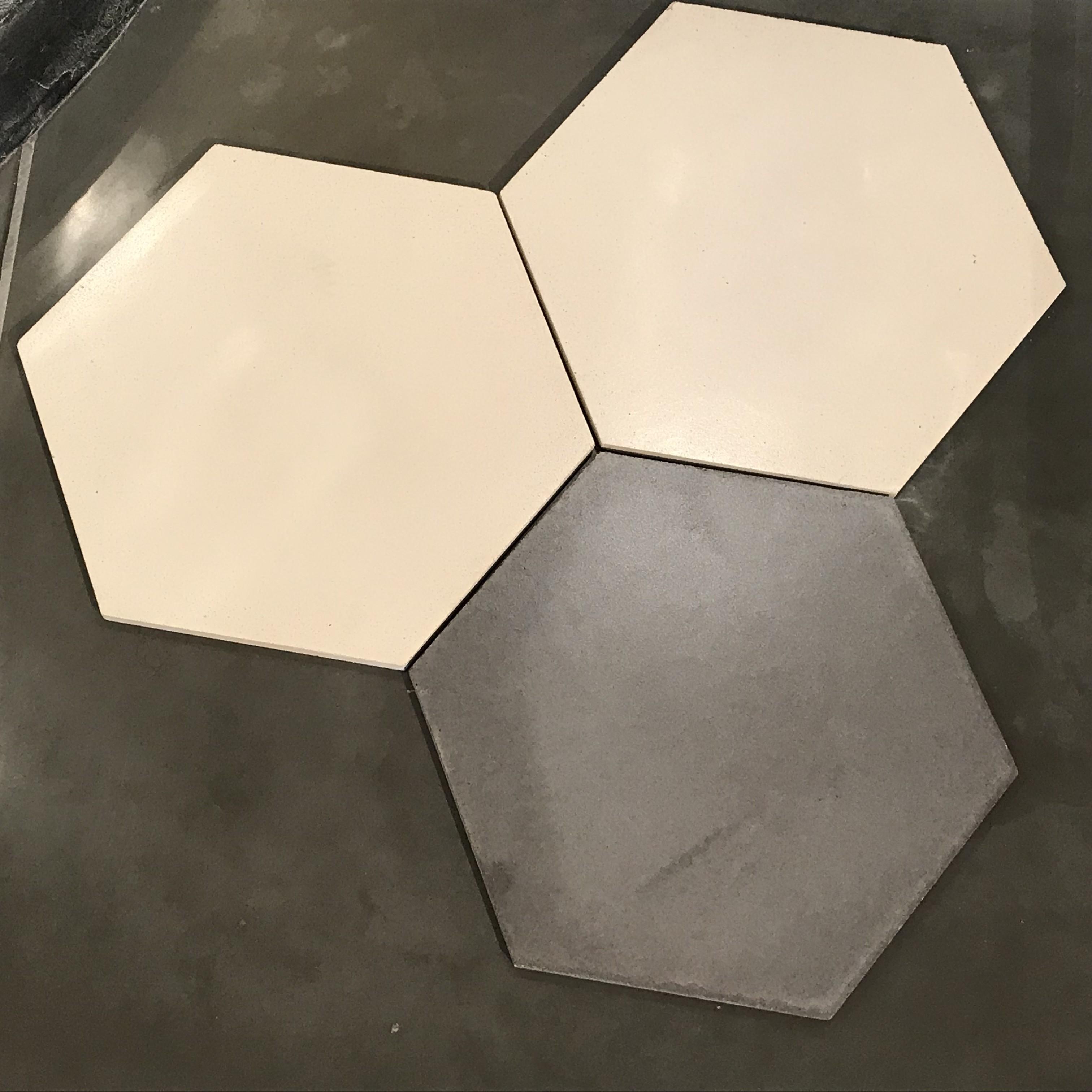 Nouvelle gamme de carreaux béton