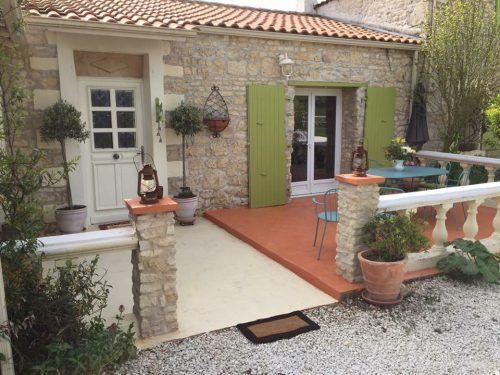 Rénovation d'une terrasse en béton ciré