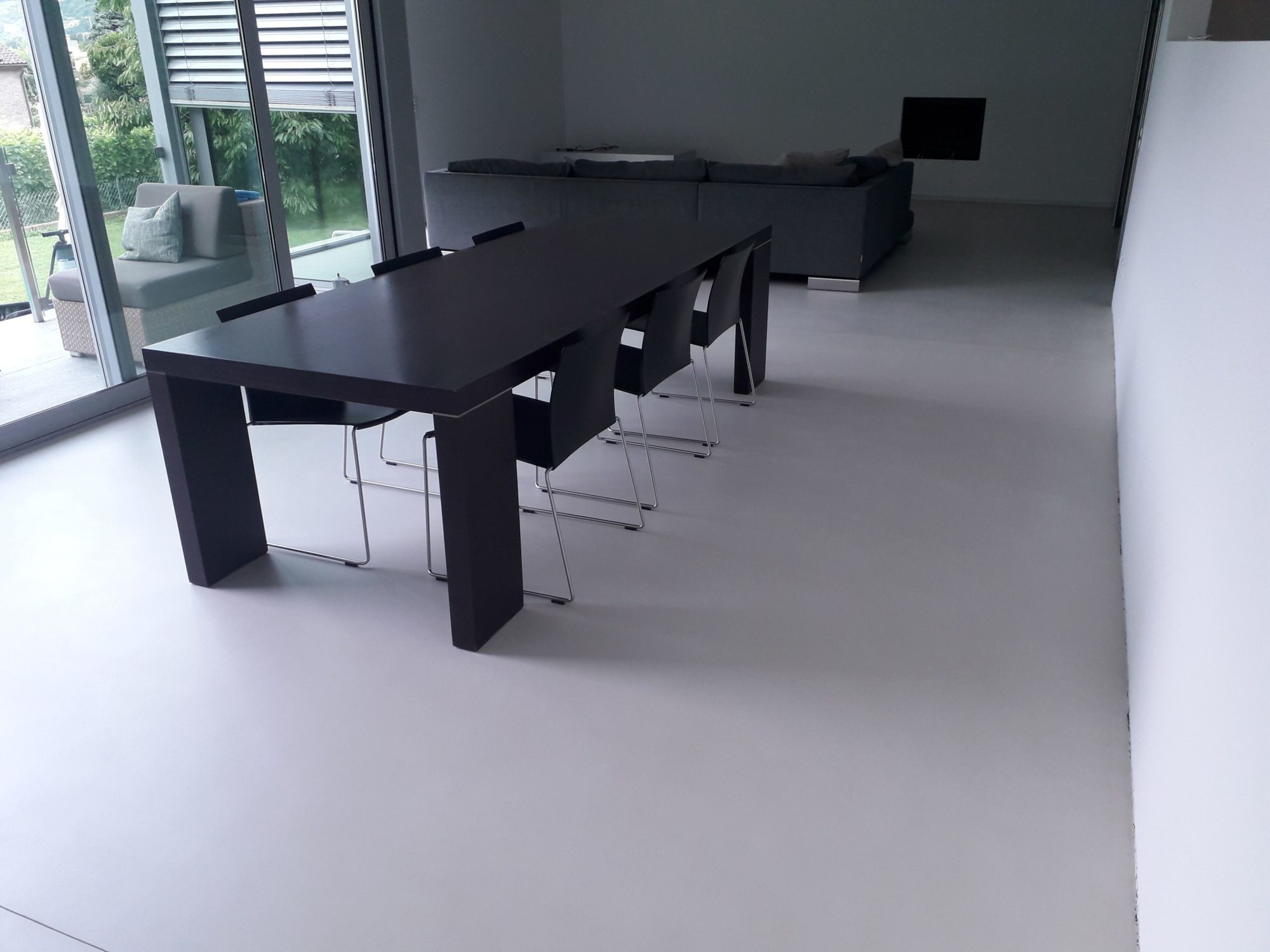 sol salle a manger et sol cuisine maison priv e giubiasco tessin suisse 1 compressor. Black Bedroom Furniture Sets. Home Design Ideas