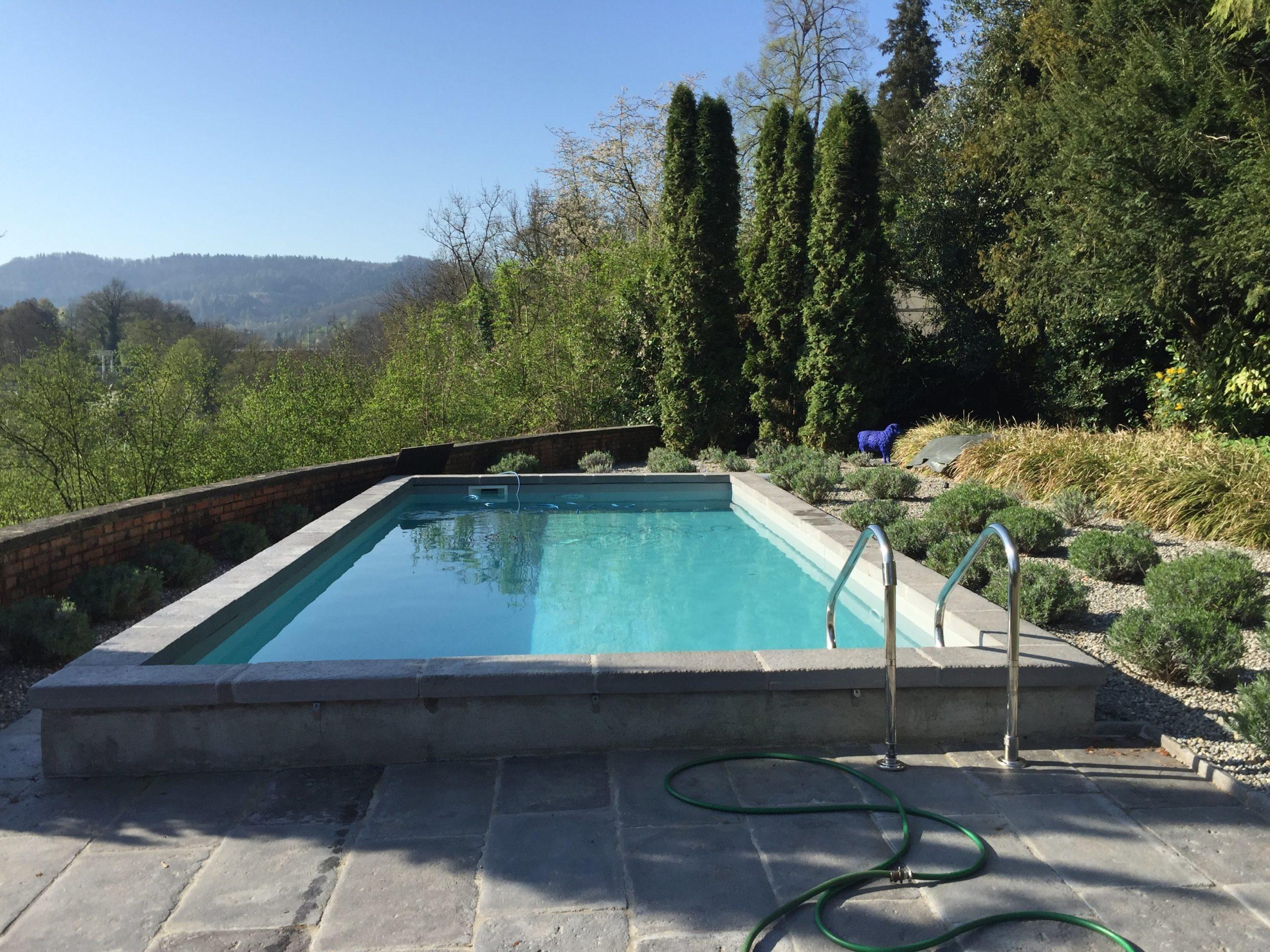 Piscine-margelle-carrelage-gris-Suisse